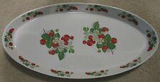 Vintage Portmeirion Strawberry Large Oval Serving Dish / Platter