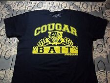 Large- NWOT Navy Blue Cougar Bait David And Goliath Brand T- Shirt