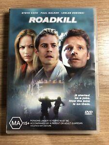 Roadkill DVD region 4 Paul Walker