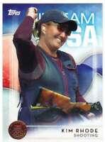 2016 Topps US Olympic Team USA Bronze #13 Kim Rhode  Shooting