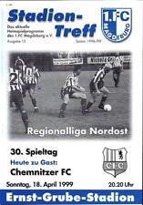 RL 1998/99 1. FC Magdeburg - Chemnitzer FC, 18.04.1999