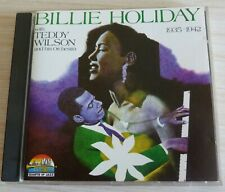 CD ALBUM BILLIE HOLIDAY WITH TEDDY WILSON AND HIS ORCHESTRA 24 TITRES 1990