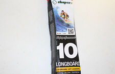 Shapers High Performance 10FT Longboard / Surfboard Legrope - Ankle Leash BLACK