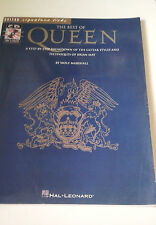 "GUITAR SIGNATURE LICKS ""THE BEST OF QUEEN"" EN BUEN ESTADO INCLUYE CD WOLF MARSHA"