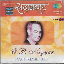 O.P.NAYYAR - PYAR BHARE GEET - NEW BOLLYWOOD 2CD SET - FREE UK POST