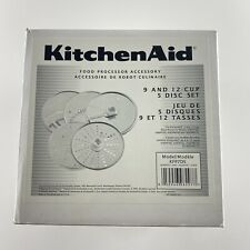 KitchenAid 9 and 12 Cup 5 Disc Set Food Processor Accessory Blade Kit KFP7DS