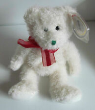 TY BEANIE BABY 2004  HOLIDAY TEDDY ( CHRISTMAS BEAR ) - MINT - RETIRED