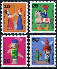 705-708 ** BRD 1971, Altes Holzspielzeug
