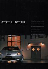 TOYOTA CELICA T23 SS I II 1 2 Sports Version Prospekt Brochure JAPAN 1999 8