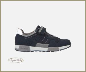 Geox scarpe da bambino per ragazzo estive sneakers in tela con strappo casual