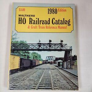 1980 Walthers HO Railroad Catalog & Craft Train Ref Manual