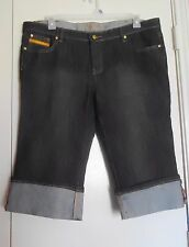 Ruff Ryders Women Cuffed Denim Shorts 15/16