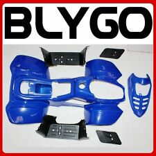 BLUE Plastics Fairing Fender Guards Cover Kit 50cc 70 110cc Quad Dirt Bike ATV