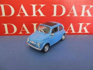 Die cast 1/43 Modellino Auto Fiat 500 azzurra 1960 by Ist