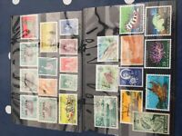 Papua New Guinea, Seychelles Nyasaland nhm/mint and used stamps on cards