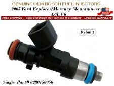 1 Fuel Injector OEM Bosch for 2005 Ford Explorer/Mercury Mountaineer 4.0L V6