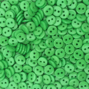6mm 9mm New Small Mini Tiny Micro Figures Doll Clothing Sew Buttons 50pcs