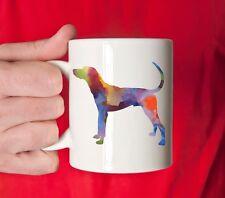 Plott Hound Coffee Mug - Plott Hound Lover Gift - Watercolor Plott Hound Mug