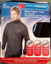 ANTI FREEZE MAGLIA TERMICA WIND STOP TG. S ROLL NECK WINDPROOF THERMAL SHIRT