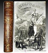 1857 - CORPUS DE SANGRE - Los fueros de Cataluña - 20 Laminas