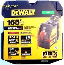 New Dewalt DW088K Self Leveling Cross Line Laser Horizontal & Vertical 3 Beam