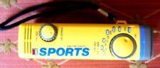 Sports Stylish AM/FM Pocket Radio, Antenna, Belt Clip & Strap