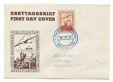 1951 First Post War Glider Flight Day Nuremberg - Furth Cover