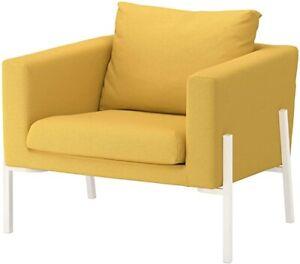 🌼IKEA Koarp Chair (Armchair) Cover/ Slipcover ORRSTA GOLDEN YELLOW New Open 🌼