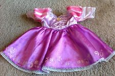 Build a Bear Disney Princess Rapunzel Tangled Purple Dress