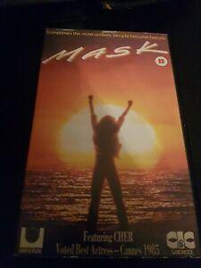 MASK - CHER - CIC VIDEO VHS EX RENTAL BIG BOX