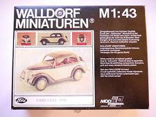 Ford Eifel Limousine 1938, Weißmetall-Bausatz wm-kit, Walldorf in 1:43 boxed!