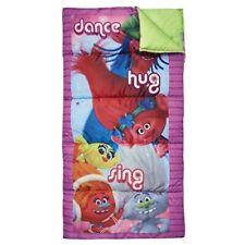 Dreamworks Trolls Dance Hug Sing Multicolor Kids Children Camping Sleeping Bag