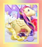 ❤️My Little Pony MLP G1 Vtg 1983 Rainbow Sky Dancer Skydancer Yellow Pegasus❤️
