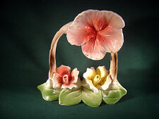 Vintage Capodimonte Made in Italy ~Flowers~ NO CHIPS!! - Original Certificate