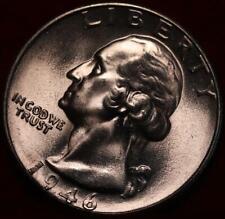 Uncirculated 1946-S San Francisco Mint Silver Washington Quarter