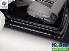 Original Volkswagen VW Einstiegsfolie Schutzfolie schwarz silber Up 4 türer