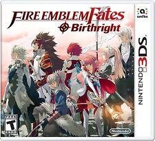 New! Fire Emblem Fates: Birthright (Nintendo 3DS, 2016) - U.S. Retail Version!