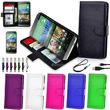 Wallet Flip Stand Leather Case Cover For New HTC Desire 510 520 626 628 650
