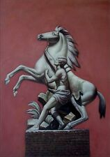 Alexander the Great and Horse Quality Hand Painted Oil Painting 28x38in