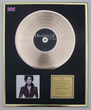 JANET JACKSON DESIGN OF CD GOLD DISC RECORD FREE P&P!