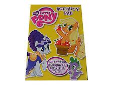 Niños Niñas My Little Pony Para Colorear libro de actividades Pad - NUEVO