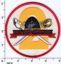 USMC 2nd Recruit Training Battalion LARGER round PATCH Marines PISC MCRD 2d RTB