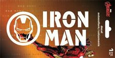 IRON MAN LOGO - WINDOW DECAL/STICKER - 6 x 2.5 BRAND NEW - CAR 7141