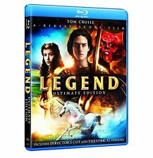LEGEND (1985) The Ultimate Edition) Tom Cruise  - Blu Ray - Sealed Region free