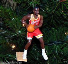 stacey AUGMON atlanta HAWKS basketball NBA xmas TREE ornament HOLIDAY vtg JERSEY