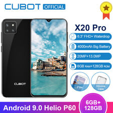 """Cubot X20 Pro 6.3"""" 6G+128GB Android 9.0 Octa Core 4 Cameras Mobile Phone 4000mAh"""
