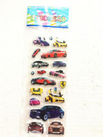 1sheet Boy Favor Cars Stickers Lot Teacher Rewards Kids Children Crafts GiftS US