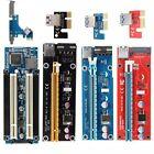 USB 3.0 PCI-E PCI Express 1x to 16x Extender Riser Card Adapter Cable BTC Lot