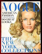 Vogue Magazine ~ September 1, 1968 ~ Veruschka Avedon Irving Penn
