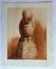 Ame Alan Johnstone HENRY CLEWS monde GRAVURE LA NAPOULE Sculpture IN4 1959